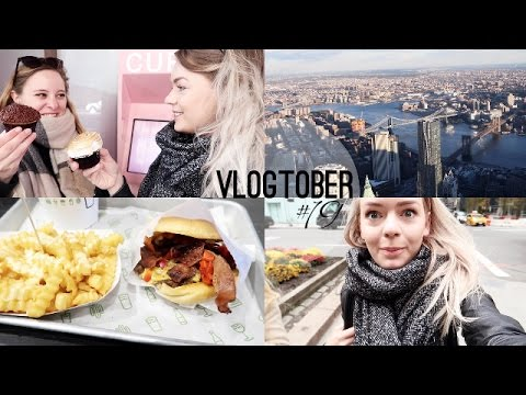 CUPCAKE ATM, ONE WORLD OBSERVATORY & SIA   Vlogtober #19