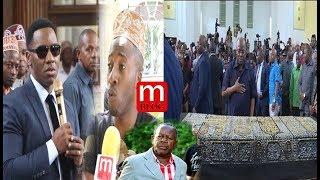 MWANZO MWISHO: Kuuaga mwili wa Mzee Majuto, Magufuli Amwaga chozi, Wasanii Viongozi waungana