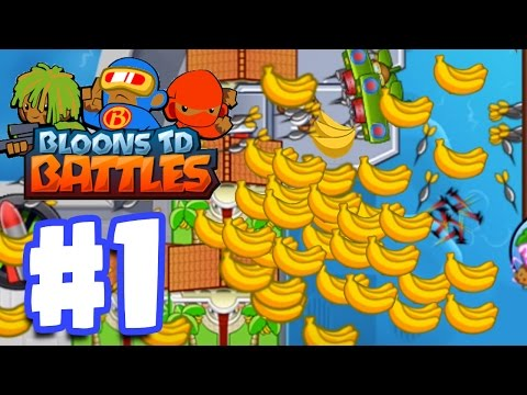 SO MUCH MONEY SO QUICKLY! | Bloons TD Battles Gameplay Walkthrough Part 1