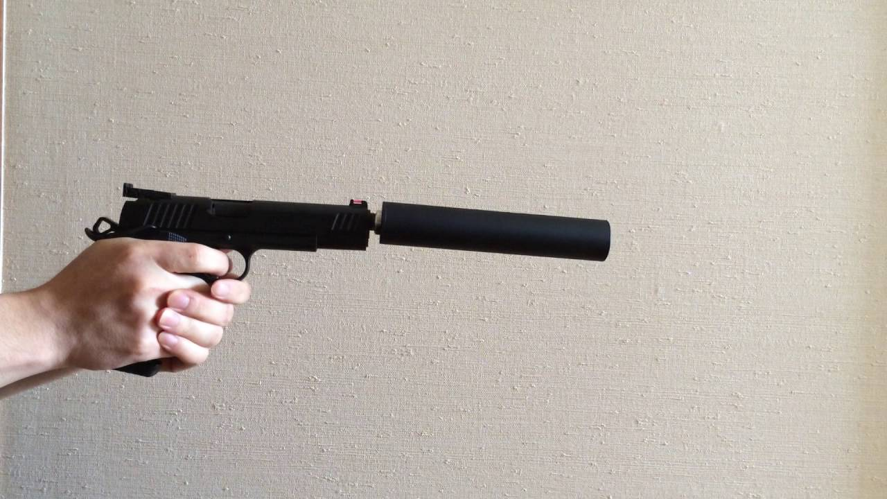 1911 Blank Firing Suppressed