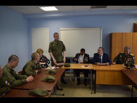 Выступление зам. командира Кантемировской дивизии Олега Чивилёва