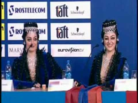 First semifinal winners: Press conference/draw - ARMENIA