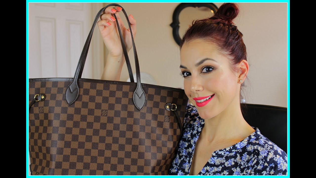 ac15caec1cff3 Louis Vuitton Neverfull MM (1 YR) Review