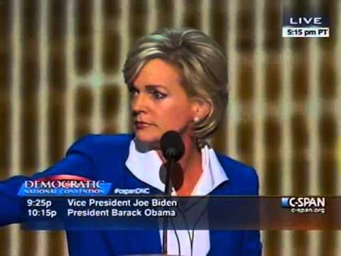 Gov. Jennifer Granholm 2012 Democratic National Convention Speech