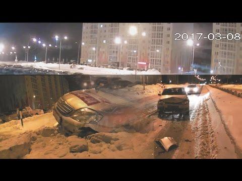 Ночное ДТП на Ивана Захарова в Сургуте