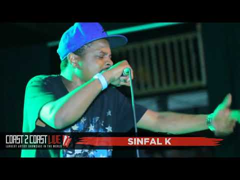 Sinfal k (@kennysinfal) Performs at Coast 2 Coast LIVE | Philly Edition 8/23/17