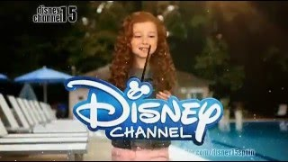 Francesca Capaldi - You're Watching Disney Channel! ident