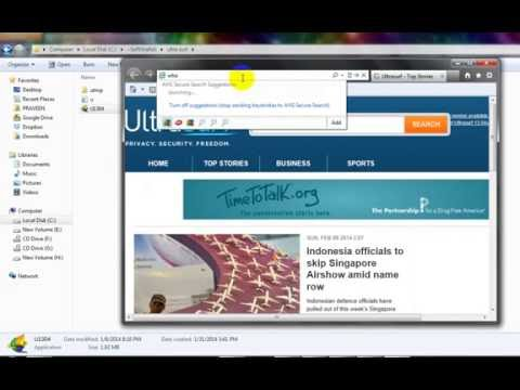 How to Hide / Change IP Address OR Bypass Proxy Server Using Ultrasurf