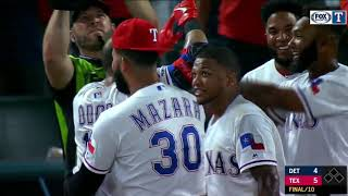 Rougned Odor Hits Walk-Off Home Run To Defeat Detroit Tigers