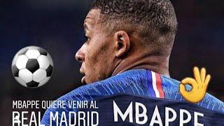 Mbappe viene al Real Madrid en dos o tres años