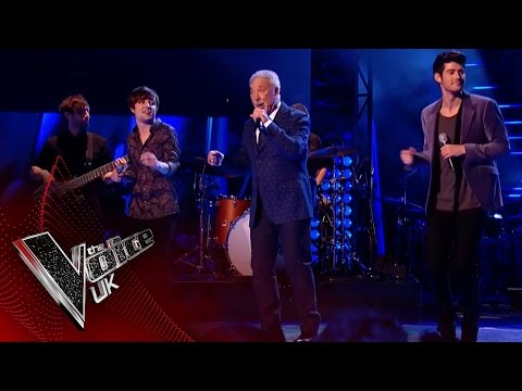 Into The Ark & Tom Jones perform 'Hold On, I'm Coming': The Final | The Voice UK 2017