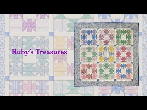 "Block Party January 2017 ""Ruby's Treasures"""
