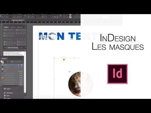 boutique officielle comment acheter prix compétitif Les Masques InDesign - YouTube