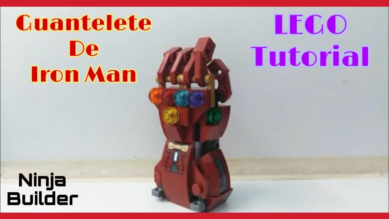 Guantelete De Iron Man Avengers Endgame Usando El Hulkbuster Lego Tutorial Youtube