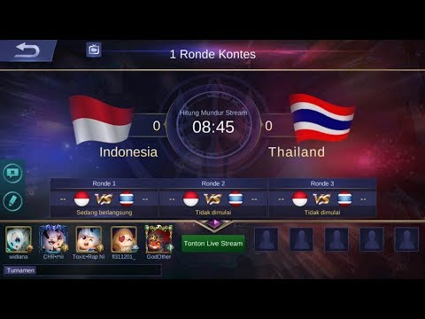 LIVE ARENA KONTES INDONESIA vs THAILAND | GIVE AWAY CEK DESKRIPSI