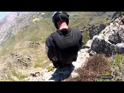 Jeb Corliss Table Mountain Crash