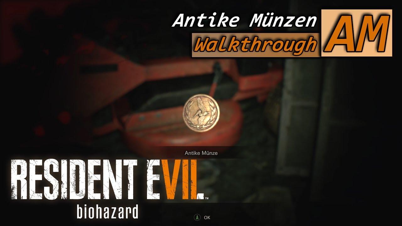 Resident Evil 7 Biohazard Pelikane In Der Hose 18 Antike Münzen