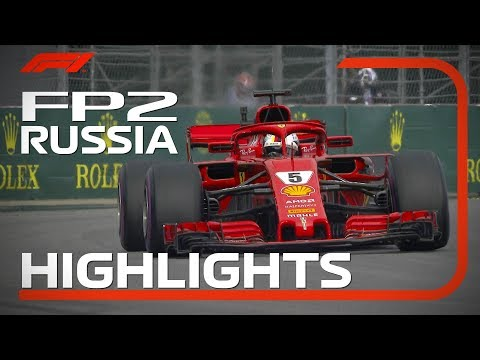 2018 Russian Grand Prix: FP2 Highlights