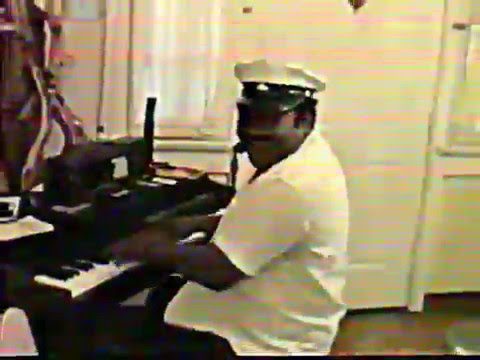 """Fats Domino """"Going to the River"""". Private concert visiting Fats , October 1991"""