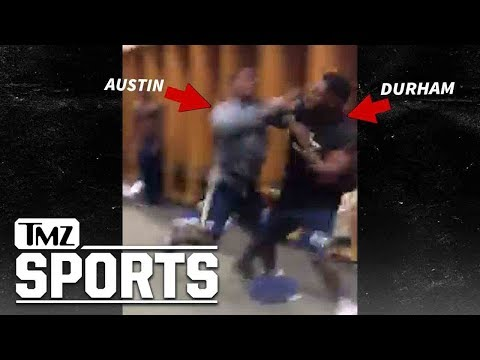 Georgia Tech Football Player KO's Teammate AGAIN ... Round 2, Baby!! | TMZ Sports