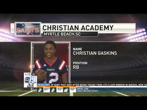 CHRISTIAN ACADEMY OF MYRTLE BEACH SAINTS 2015 FOOTBALL PREVIEW