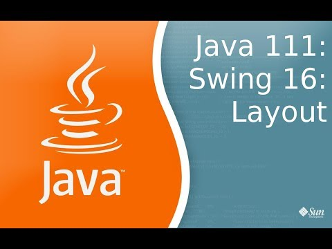 Урок по Java 111: Swing 16: Layout