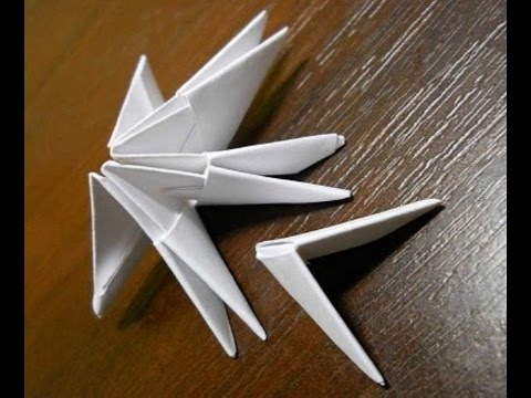 видео: Поделки с детьми! Модуль оригами (origami).