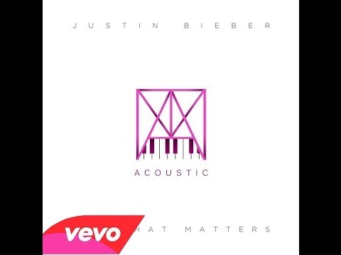 Justin Bieber - All That Matters (Piano Version)
