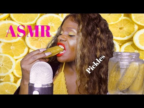 ASMR CHEW Pickle (Eating Sounds) HEALING TO HELP YOU SLEEP