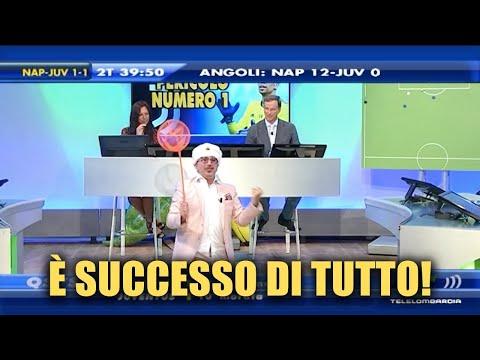 I GOL DI NAPOLI - JUVE 2-1: LA REAZIONE DELLO STUDIO!
