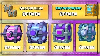 Free 2 Play Chest Opening - SMC, Legendary, Magical • Clash Royale deutsch