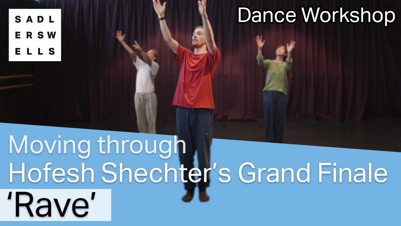 Moving through Hofesh Shechter's Grand Finale: 'Rave' | dance workshop