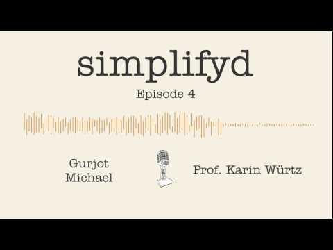 Ep. 4 - Prof. Karin Würtz (ETH Zurich) tells us to drink red wine | Simplifyd