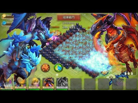Castle Clash Arctica VS Moltanica!