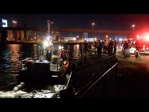 Six people rescued from outer harbor boat crash