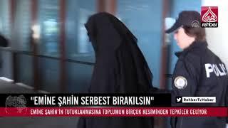 """""""EMİNE ŞAHİN SERBEST BIRAKILSIN"""""""