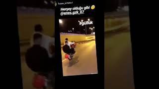 Çene Motor Farkıyla 250 cc kral sürücü Enes Gzk Videonun sonuna dikkat