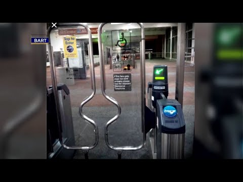BART Board Approves New Gate Design to Discourage Fare-Jumping