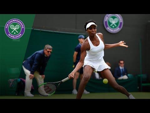 Venus Williams v Elise Mertens highlights - Wimbledon 2017 first round