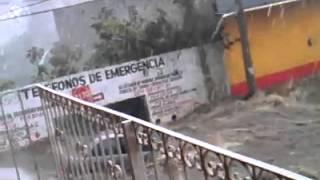 Intensas lluvias en Huatusco por frente frío 43
