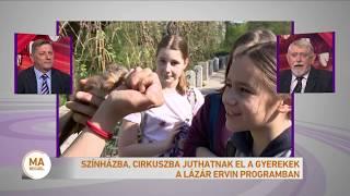 Színházba, cirkuszba juthatnak el a gyerekek a Lázár Ervin programban