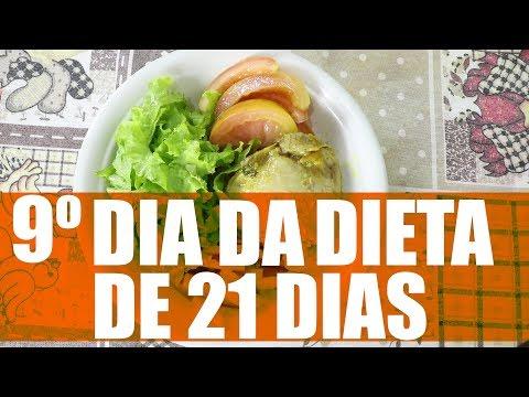 9º DIA DA DIETA DE 21 DIAS | REFEIÇÃO PRINCIPAL