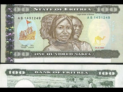 Eritrean NAKFA Official Currency