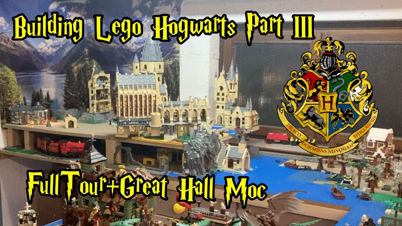 Download Building Lego Hogwarts Part III: Full Wizarding World Tour + Updated Great Hall Moc
