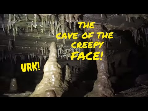 The Cave Of The Creepy Face Exploration