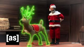 Reindeer Abuse | Robot Chicken | adult swim