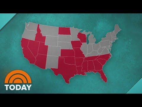 21 States Are In Coronavirus Red Zone As US Death Toll Passes 150,000 | TODAY