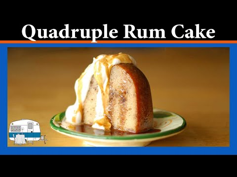 How to make a Quadruple Rum Cake