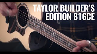 NAMM 2020: Taylor's new Builder's Edition 816ce has an innovative soundhole cutaway | Guitar.com
