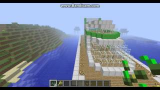 minecraft cool creations huge yacht